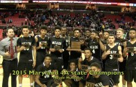 Poly Press Conference after defeating Milford Mill in MD 3A State Championship 3/10/18