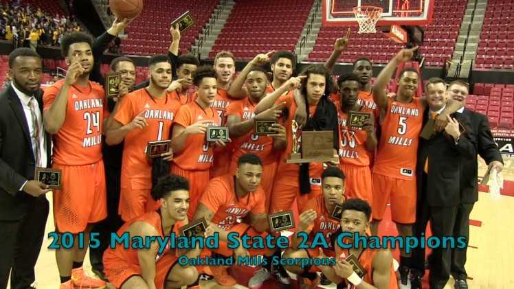 Oakland Mills Hangs on to defeat Patterson in 2015 2A state chip @ Xfinity