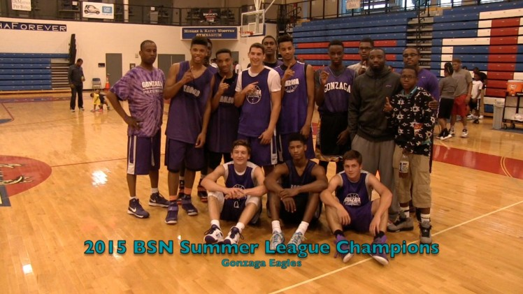 Gonzaga Captures 2015 BSN Summer League championship with win over DeMatha 7 8 15