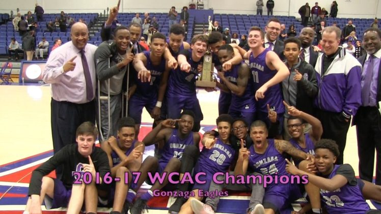 Gonzaga Claims 2017 WCAC Championship Defeating Paul VI 68-55 2/27/2017