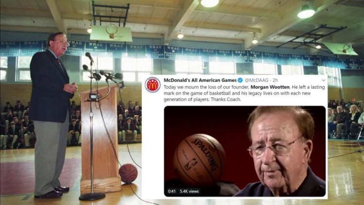 The Basketball World Pays Tribute to Morgan Wootten